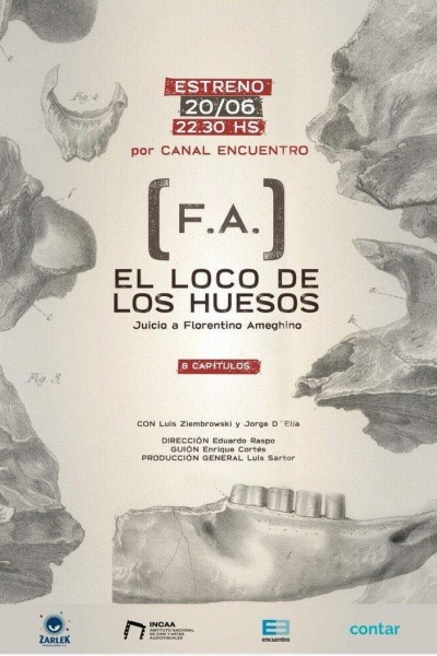 Caratula, cartel, poster o portada de El loco de los huesos