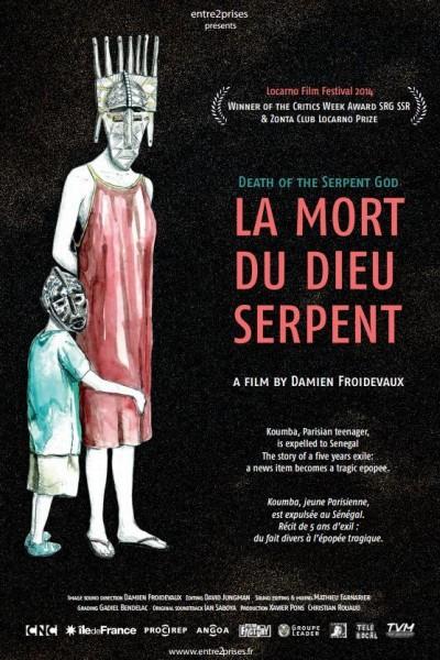 Caratula, cartel, poster o portada de La mort du Dieu serpent