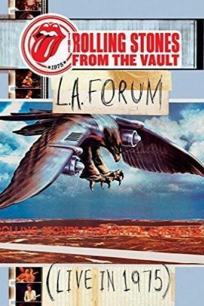 Caratula, cartel, poster o portada de The Rolling Stones: From the Vault - L.A. Forum (Live In 1975)