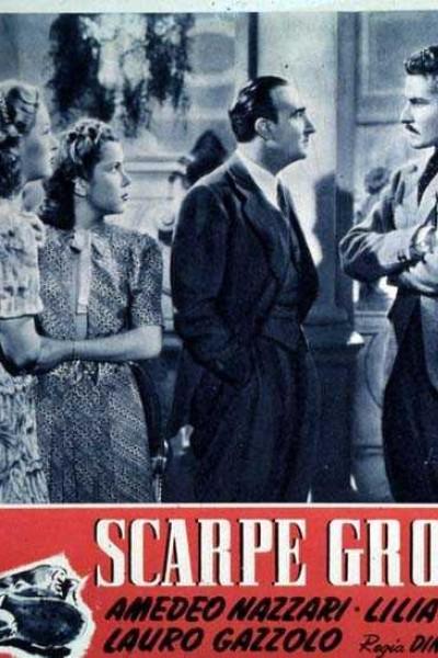 Caratula, cartel, poster o portada de Scarpe grosse
