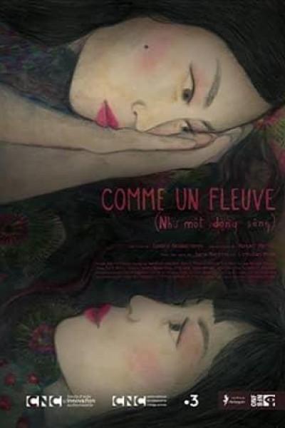Caratula, cartel, poster o portada de Como un río