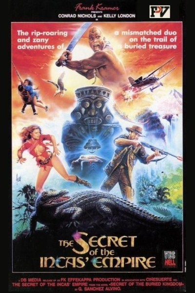 Caratula, cartel, poster o portada de El secreto del Imperio de los Incas