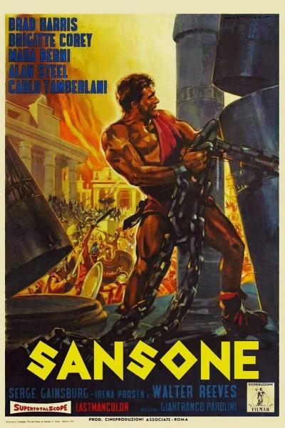 Caratula, cartel, poster o portada de Sansone