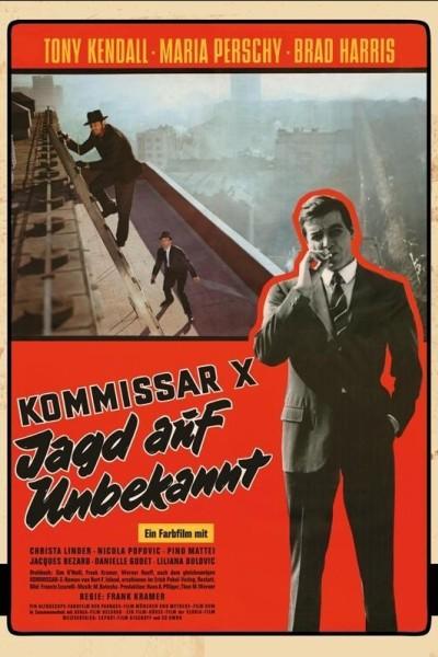 Caratula, cartel, poster o portada de Comisario X