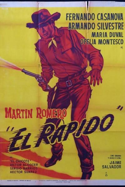 Caratula, cartel, poster o portada de Martín Romero El Rápido