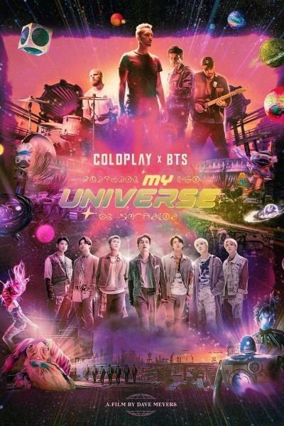 Caratula, cartel, poster o portada de Coldplay x BTS: My Universe (Vídeo musical)
