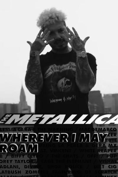 Caratula, cartel, poster o portada de J Balvin: Wherever I May Roam (Vídeo musical)