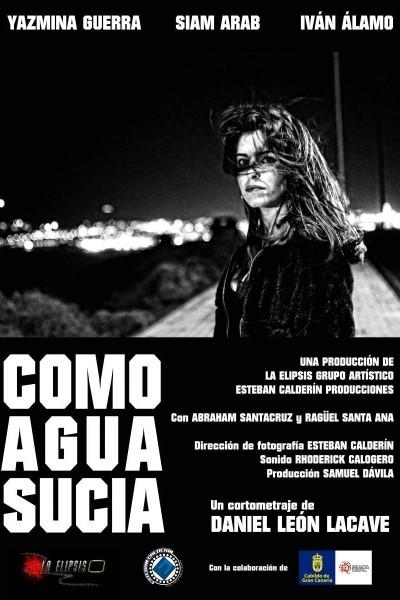 Caratula, cartel, poster o portada de Como agua sucia
