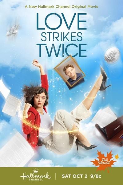 Caratula, cartel, poster o portada de Love Strikes Twice
