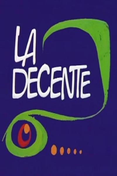 Caratula, cartel, poster o portada de La decente