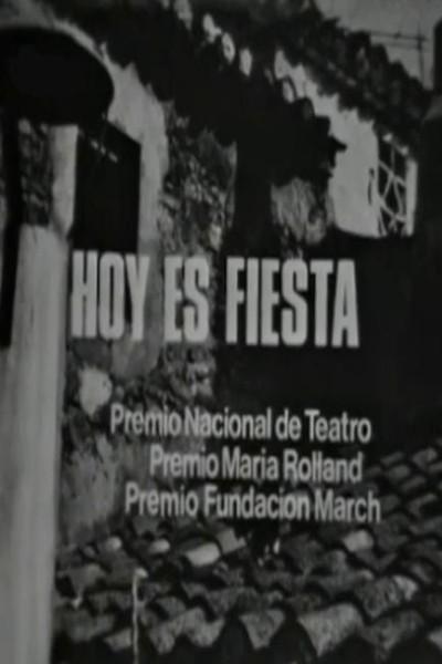 Caratula, cartel, poster o portada de Hoy es fiesta