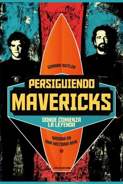 Caratula, cartel, poster o portada de Persiguiendo Mavericks