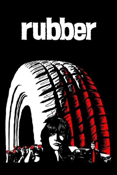 Caratula, cartel, poster o portada de Rubber