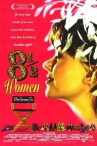 Caratula, cartel, poster o portada de 8½ mujeres