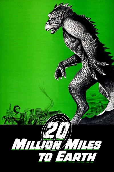 Caratula, cartel, poster o portada de El monstruo de otro planeta