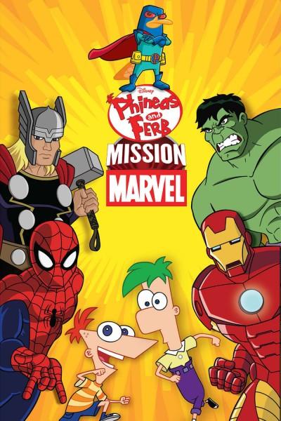 Caratula, cartel, poster o portada de Phineas y Ferb: Misión Marvel