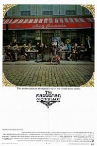 Caratula, cartel, poster o portada de La loca de Chaillot