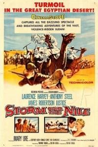 Caratula, cartel, poster o portada de Tempestad sobre el Nilo