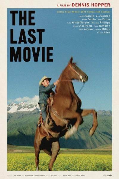 Caratula, cartel, poster o portada de La última película