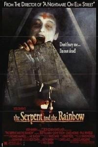 Caratula, cartel, poster o portada de La serpiente y el Arco Iris