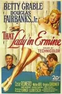 Caratula, cartel, poster o portada de La dama del armiño