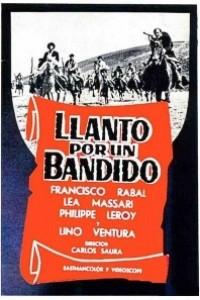 Caratula, cartel, poster o portada de Llanto por un bandido