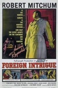 Caratula, cartel, poster o portada de Intriga extranjera