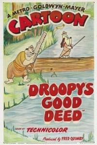 Caratula, cartel, poster o portada de La buena acción de Droopy