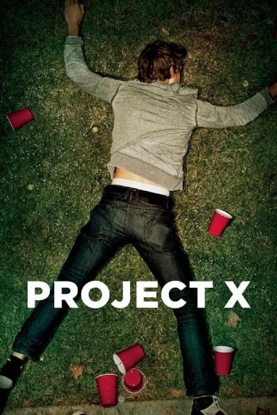 Caratula, cartel, poster o portada de Proyecto X