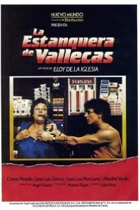 Caratula, cartel, poster o portada de La estanquera de Vallecas