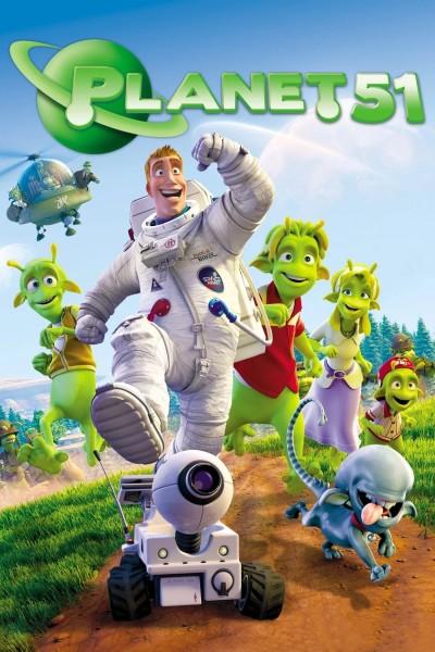 Caratula, cartel, poster o portada de Planet 51 (Planeta 51)