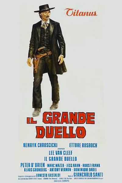 Caratula, cartel, poster o portada de Gran duelo al amanecer