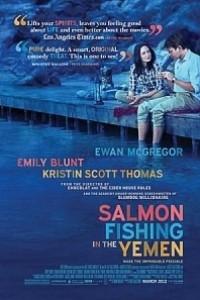 Caratula, cartel, poster o portada de La pesca del salmón en Yemen