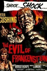 Caratula, cartel, poster o portada de La maldad de Frankenstein