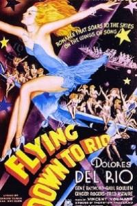 Caratula, cartel, poster o portada de Volando hacia Río de Janeiro