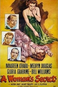 Caratula, cartel, poster o portada de Un secreto de mujer