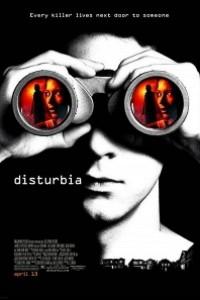 Caratula, cartel, poster o portada de Disturbia