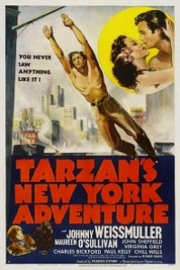 Caratula, cartel, poster o portada de Tarzán en Nueva York