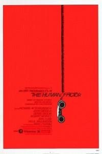 Caratula, cartel, poster o portada de El factor humano