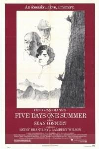 Caratula, cartel, poster o portada de Cinco días, un verano