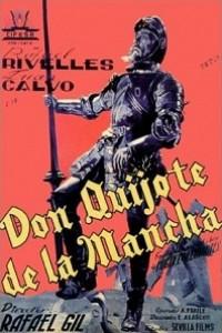 Caratula, cartel, poster o portada de Don Quijote de la Mancha