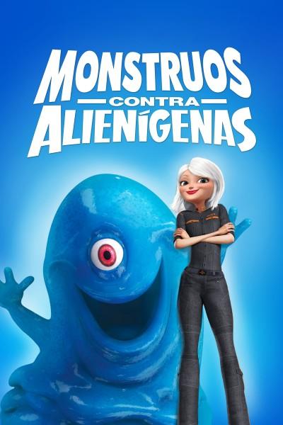Caratula, cartel, poster o portada de Monstruos contra Alienígenas