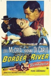 Caratula, cartel, poster o portada de Río fronterizo