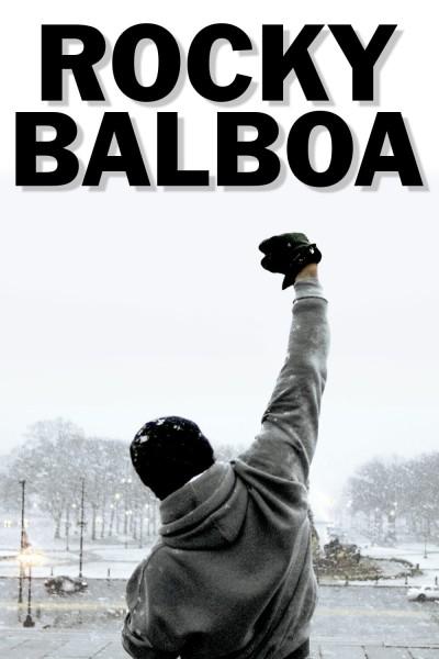 Caratula, cartel, poster o portada de Rocky Balboa