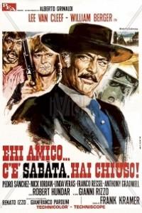 Caratula, cartel, poster o portada de Oro sangriento (Sabata)