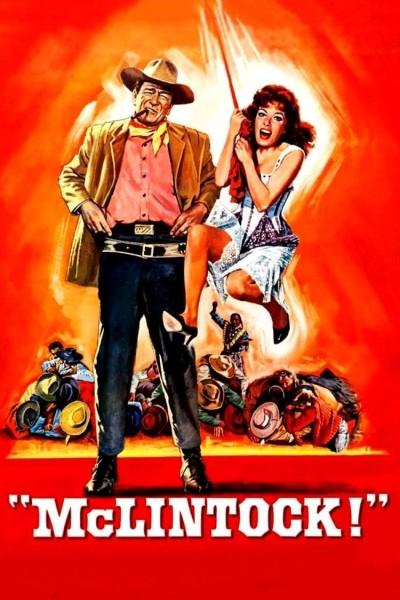 Caratula, cartel, poster o portada de El gran McLintock