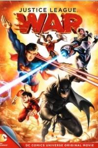 Caratula, cartel, poster o portada de La Liga de la Justicia: Guerra