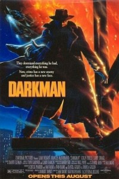 Caratula, cartel, poster o portada de Darkman