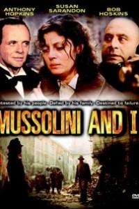 Caratula, cartel, poster o portada de Mussolini y yo