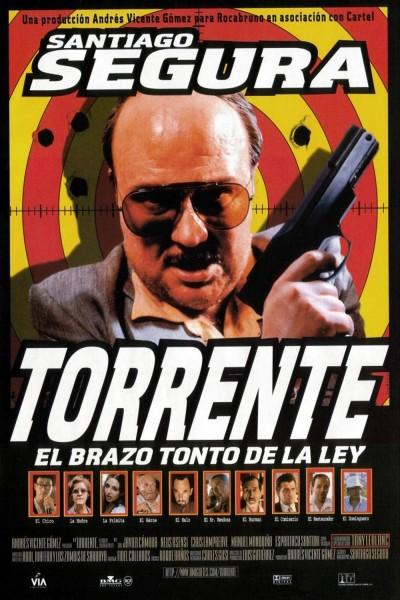 Caratula, cartel, poster o portada de Torrente, el brazo tonto de la ley